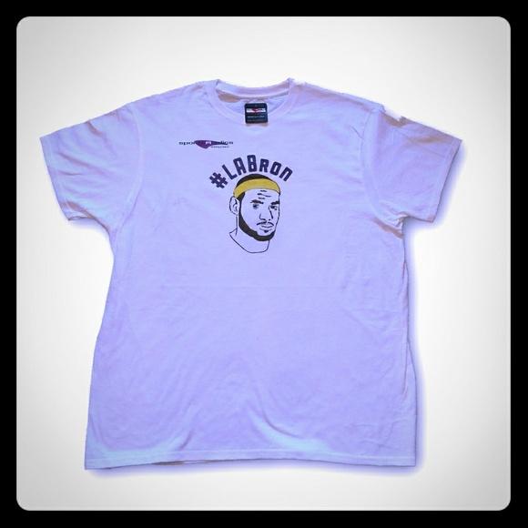 cf2766e3821 LeBron James LaBron LA Lakers T Shirt • Brand new